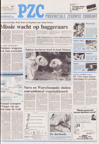 Provinciale Zeeuwse Courant 1990-11-16