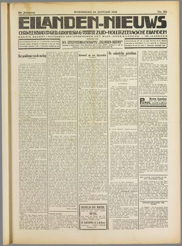 Eilanden-nieuws. Christelijk streekblad op gereformeerde grondslag 1940-01-24