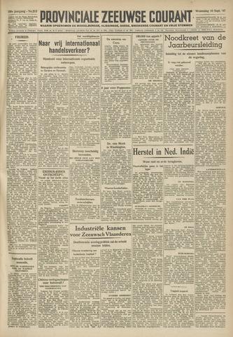 Provinciale Zeeuwse Courant 1947-09-10