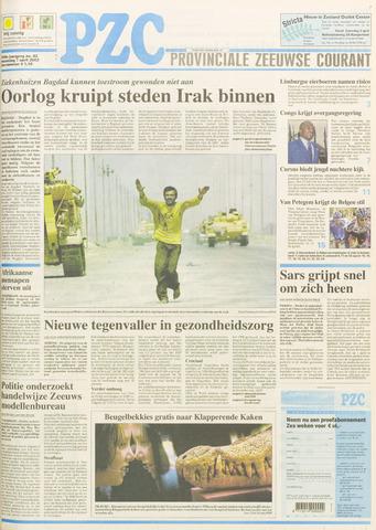 Provinciale Zeeuwse Courant 2003-04-07