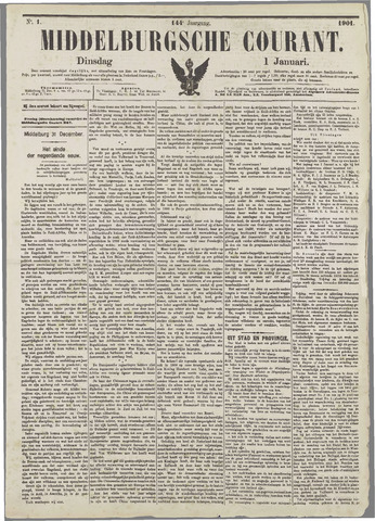Middelburgsche Courant 1901