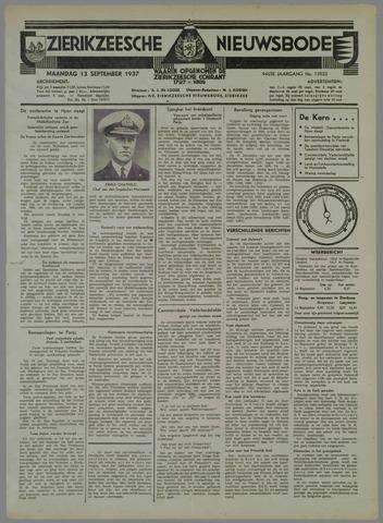 Zierikzeesche Nieuwsbode 1937-09-13