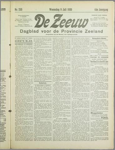 De Zeeuw. Christelijk-historisch nieuwsblad voor Zeeland 1930-07-09