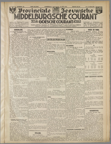 Middelburgsche Courant 1933-07-20