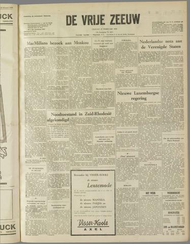 de Vrije Zeeuw 1959-02-27