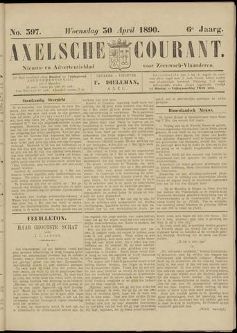 Axelsche Courant 1890-04-30