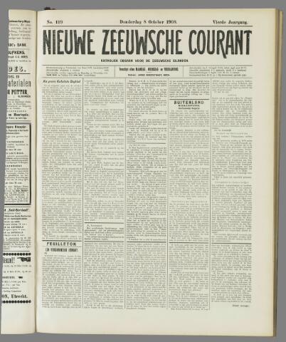 Nieuwe Zeeuwsche Courant 1908-10-08