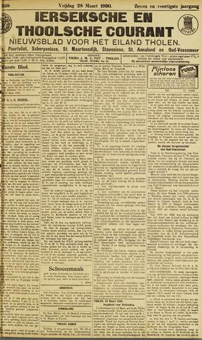 Ierseksche en Thoolsche Courant 1930-03-28