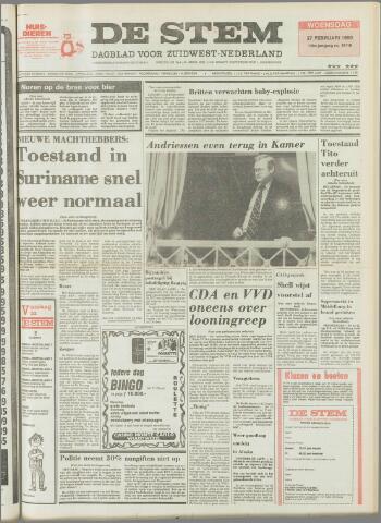 de Stem 1980-02-27