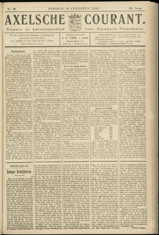 Axelsche Courant 1926-08-10