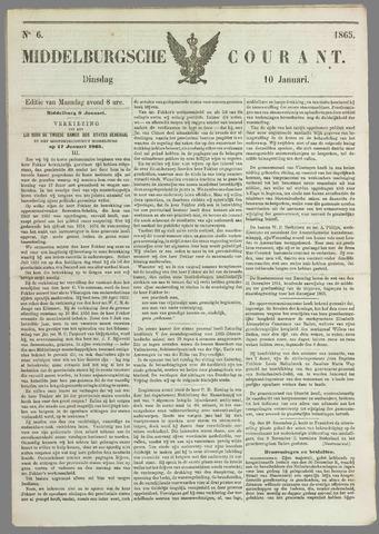 Middelburgsche Courant 1865-01-10