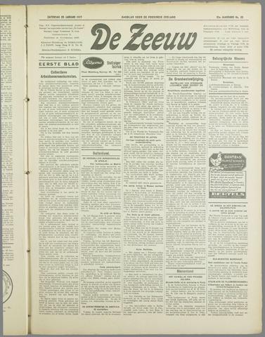 De Zeeuw. Christelijk-historisch nieuwsblad voor Zeeland 1937-01-23