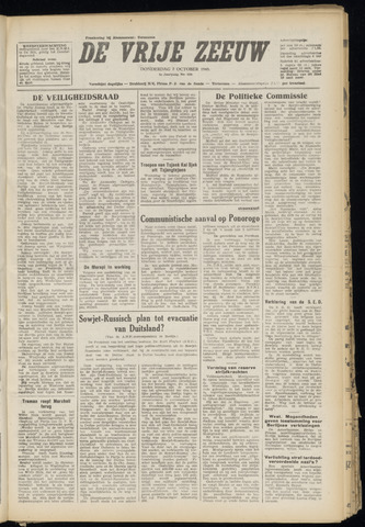 de Vrije Zeeuw 1948-10-07