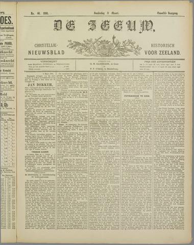 De Zeeuw. Christelijk-historisch nieuwsblad voor Zeeland 1898-03-03
