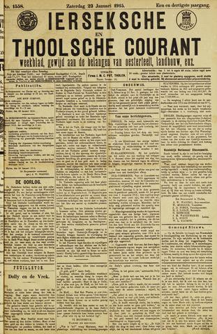 Ierseksche en Thoolsche Courant 1915-01-23