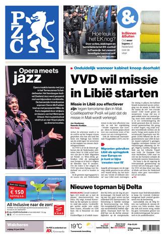 Provinciale Zeeuwse Courant 2016-06-10