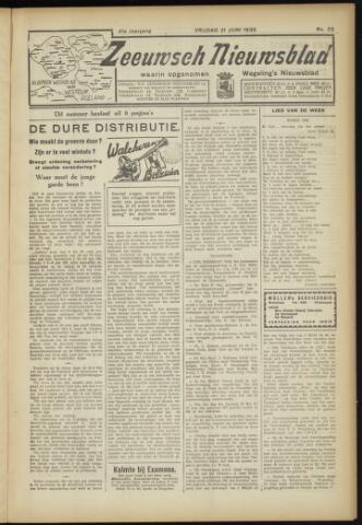 Zeeuwsch Nieuwsblad/Wegeling's Nieuwsblad 1935-06-21