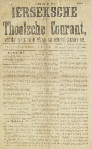 Ierseksche en Thoolsche Courant 1885-07-25