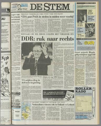 de Stem 1990-03-19