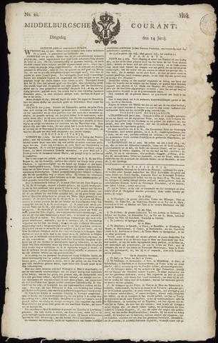 Middelburgsche Courant 1814-06-14