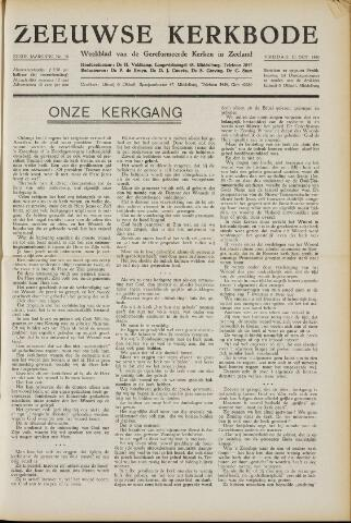 Zeeuwsche kerkbode, weekblad gewijd aan de belangen der gereformeerde kerken/ Zeeuwsch kerkblad 1950-10-20