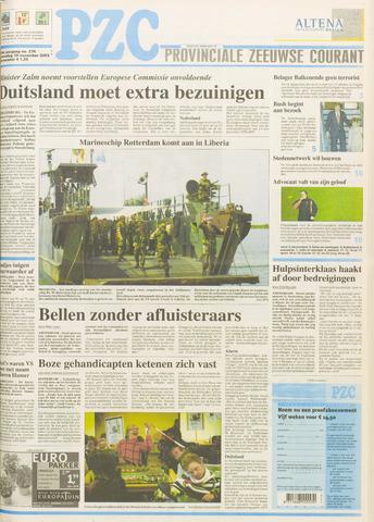 Provinciale Zeeuwse Courant 2003-11-19
