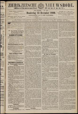 Zierikzeesche Nieuwsbode 1900-12-13