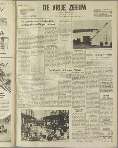 de Vrije Zeeuw 1960-02-05