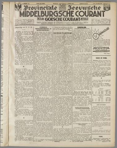 Middelburgsche Courant 1934-02-09