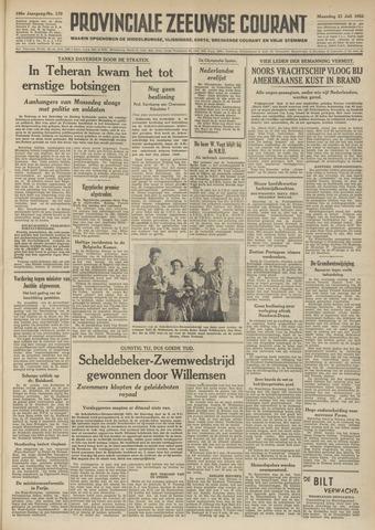 Provinciale Zeeuwse Courant 1952-07-21