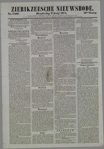 Zierikzeesche Nieuwsbode 1874-07-09