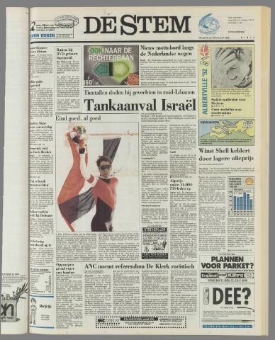 de Stem 1992-02-21