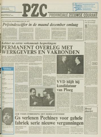 Provinciale Zeeuwse Courant 1978-01-10
