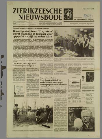 Zierikzeesche Nieuwsbode 1983-02-25