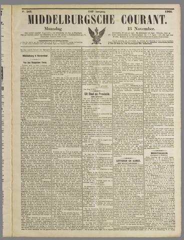 Middelburgsche Courant 1905-11-13
