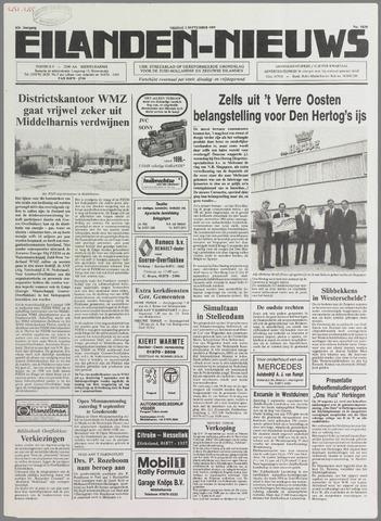 Eilanden-nieuws. Christelijk streekblad op gereformeerde grondslag 1989-09-01