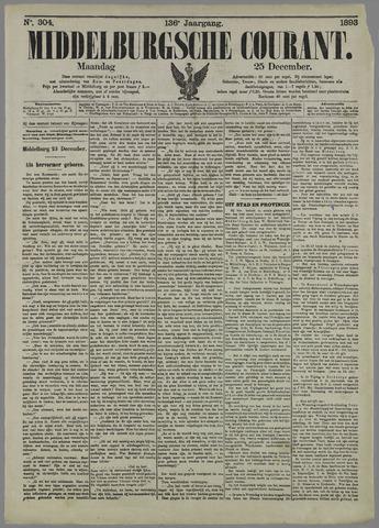 Middelburgsche Courant 1893-12-25