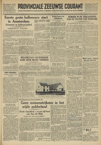Provinciale Zeeuwse Courant 1950-08-30