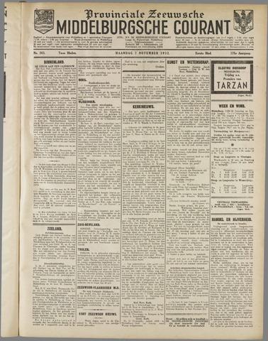 Middelburgsche Courant 1932-11-07