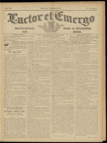 Luctor et Emergo. Antirevolutionair nieuws- en advertentieblad voor Zeeland / Zeeuwsch-Vlaanderen. Orgaan ter verspreiding van de christelijke beginselen in Zeeuwsch-Vlaanderen 1912-03-23