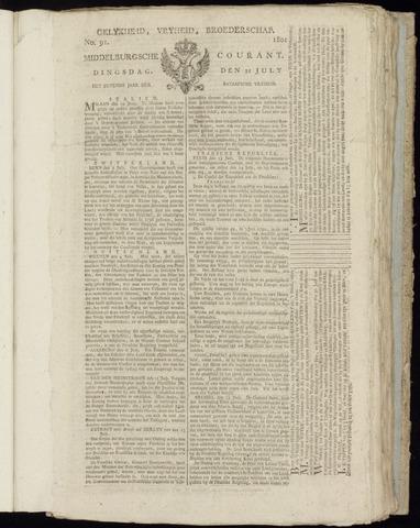Middelburgsche Courant 1801-07-21