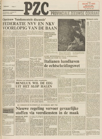 Provinciale Zeeuwse Courant 1974-05-14