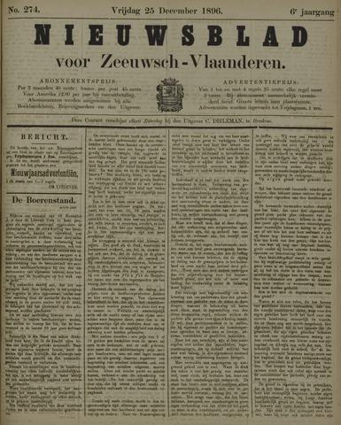 Nieuwsblad voor Zeeuwsch-Vlaanderen 1896-12-25