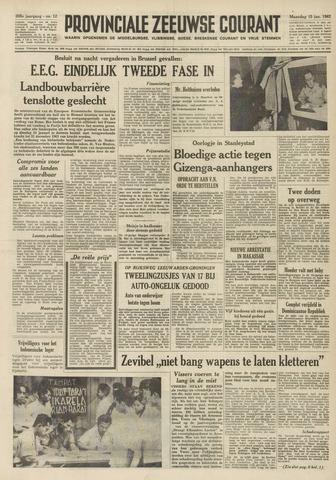 Provinciale Zeeuwse Courant 1962-01-15