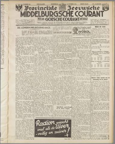 Middelburgsche Courant 1934-10-25