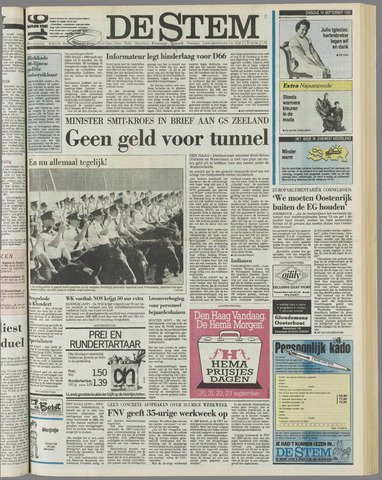 de Stem 1989-09-19