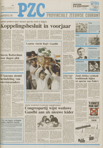 Provinciale Zeeuwse Courant 1991-05-23