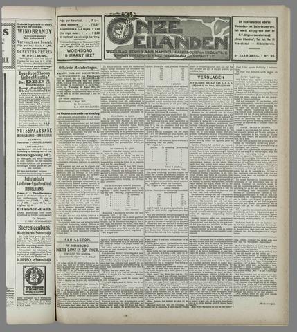 Onze Eilanden 1927-03-09