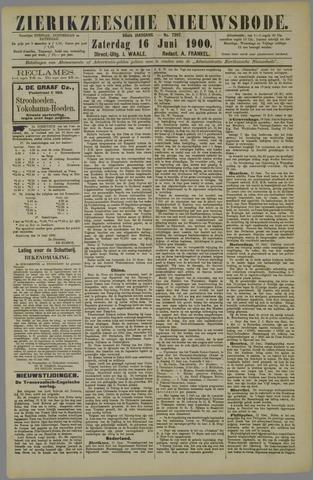 Zierikzeesche Nieuwsbode 1900-06-16