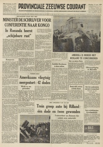 Provinciale Zeeuwse Courant 1959-11-17